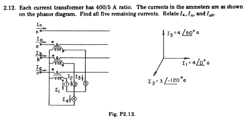 Solved each current transformer has 4005 a ratio the cu each current transformer has 4005 a ratio the currents in the ccuart Image collections