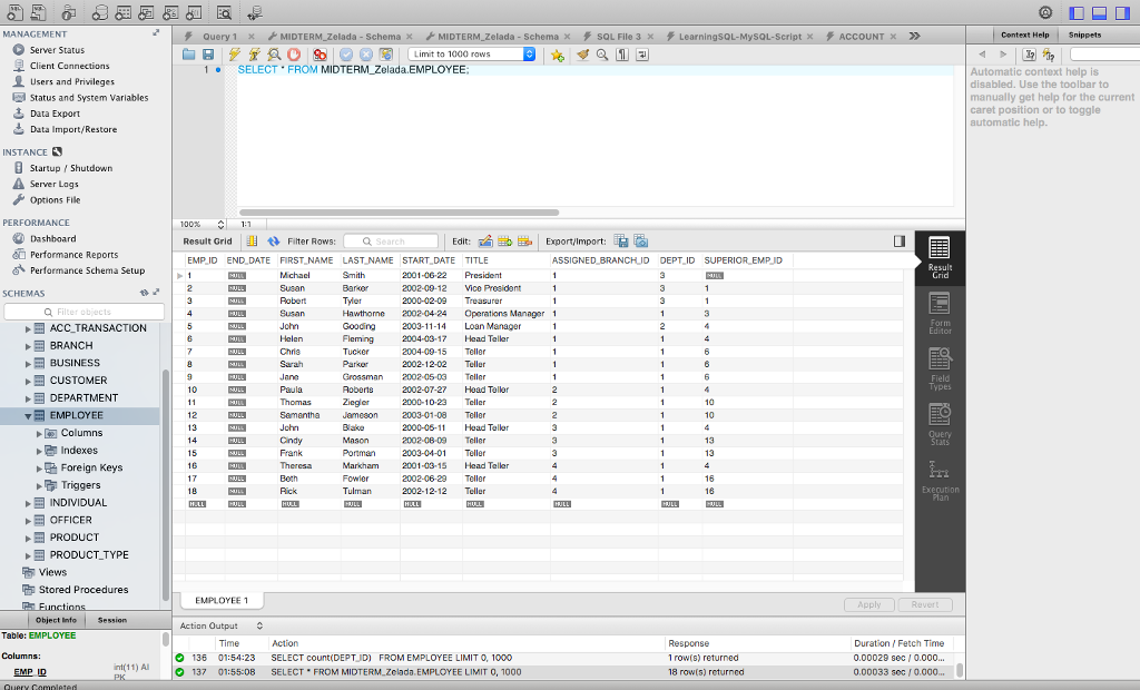 Solved: Write SQL Query How Many Employees Work For Each D