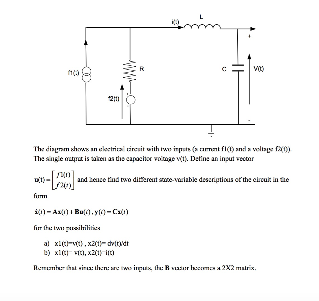 Solved It F1t F2 T The Diagram Shows An Electrical Circuit