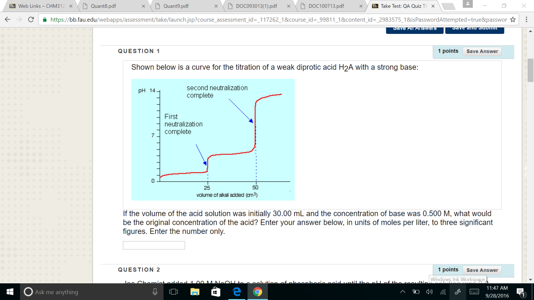 Solved D Quant 9 Pdf Bb Web Links Chm3 X D Quant8 Pdf X D