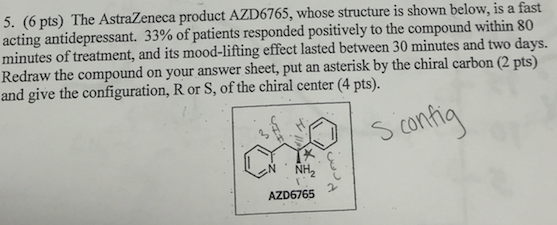 Chemistry archive march 22 2016 chegg the astrazeneca product azd6765 whose structure i fandeluxe Image collections