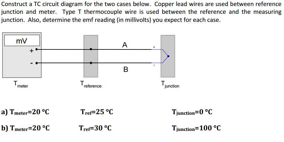 Terrific Construct A Tc Circuit Diagram For The Two Cases B Chegg Com Wiring Cloud Pendufoxcilixyz