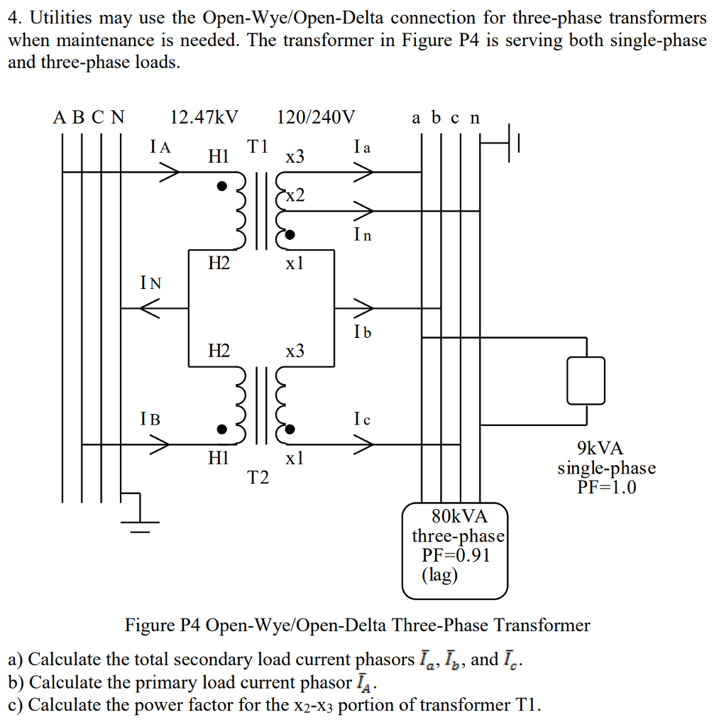 3 Phase Open Delta Diagram - Get Rid Of Wiring Diagram Problem