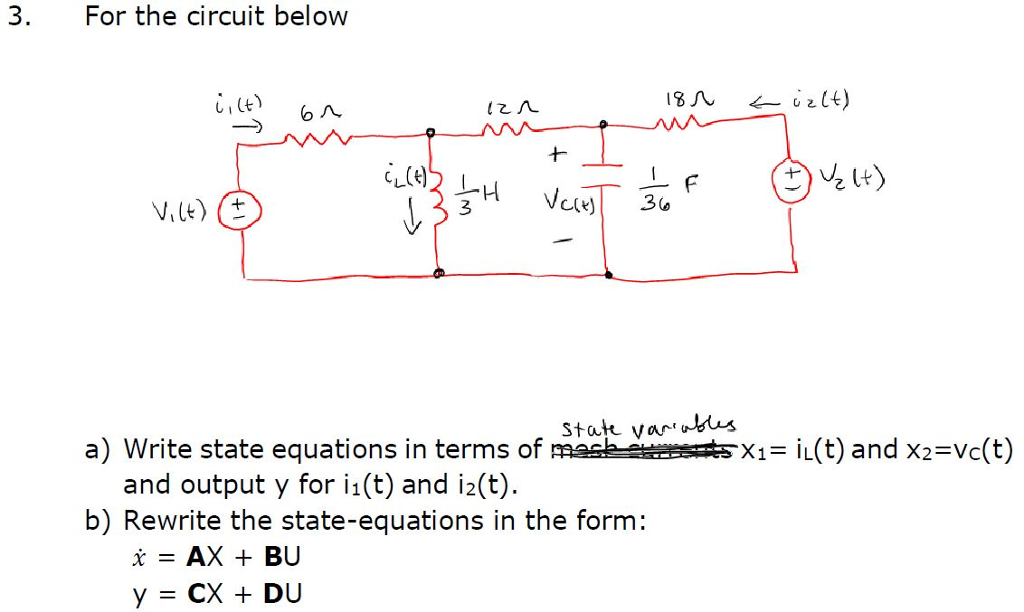 Electrical engineering archive october 12 2017 chegg for the circuit below 3 stat varus a write state equations in terms cheapraybanclubmaster Images