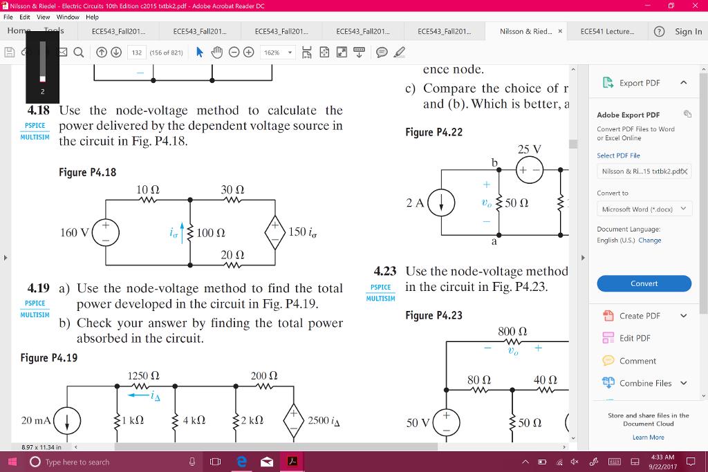 Nilsson Riedel Electric Circuits 10th Edition Pearson Pdf