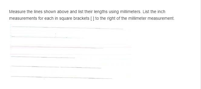 Millimeter Measurement