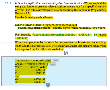 Solved Design And Implement A Java Program For Programmin
