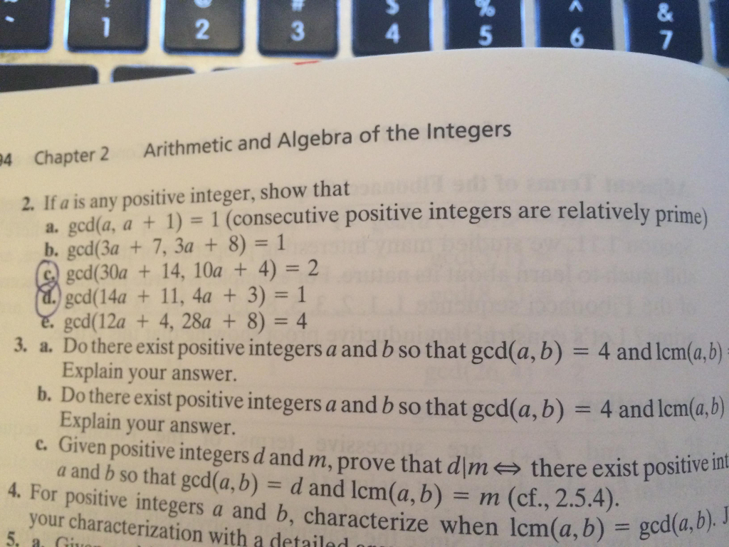 Solved: 4 94 Chapter 2 Arithmetic And Algebra Of The Integ ...