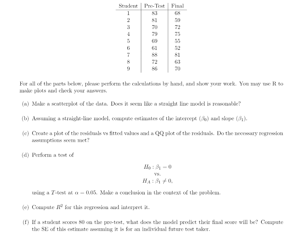 2. In A Particular College Math Class, Students Be... | Chegg.com