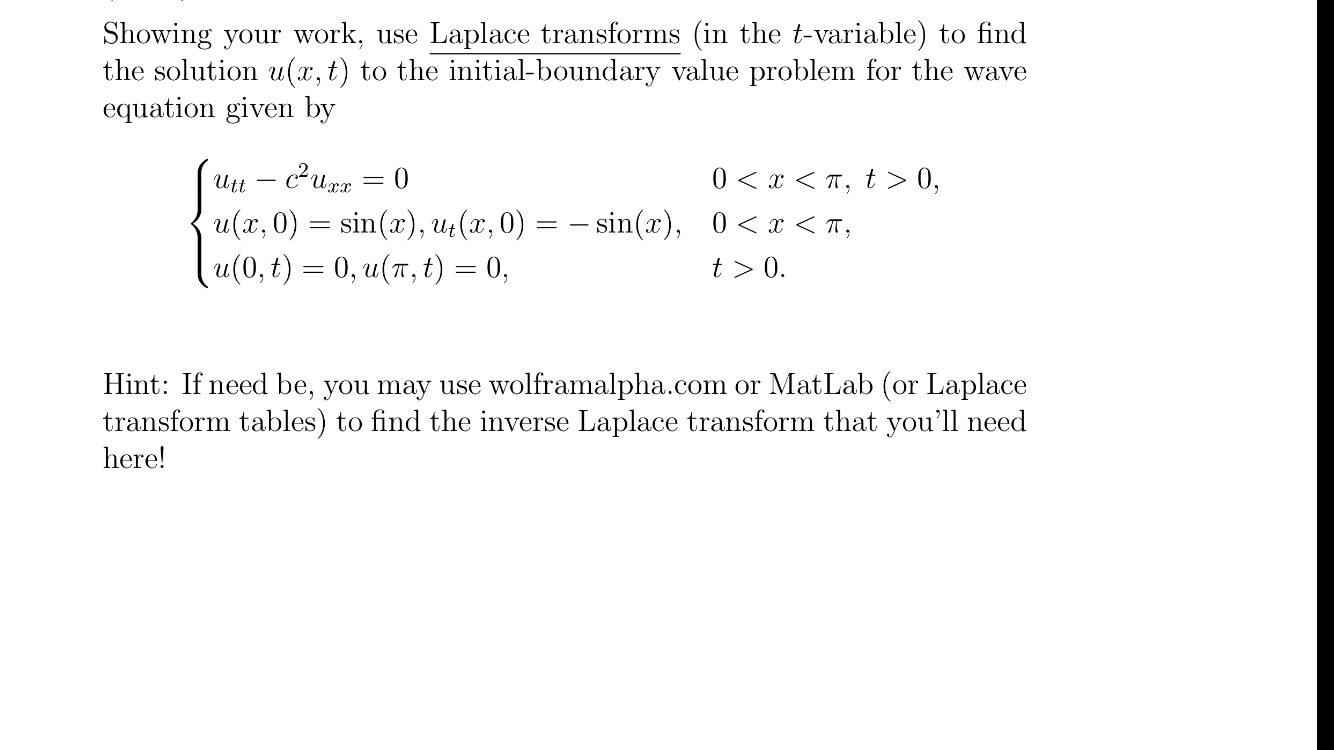 Solved: Partial Differential Equations: (easier To Underst