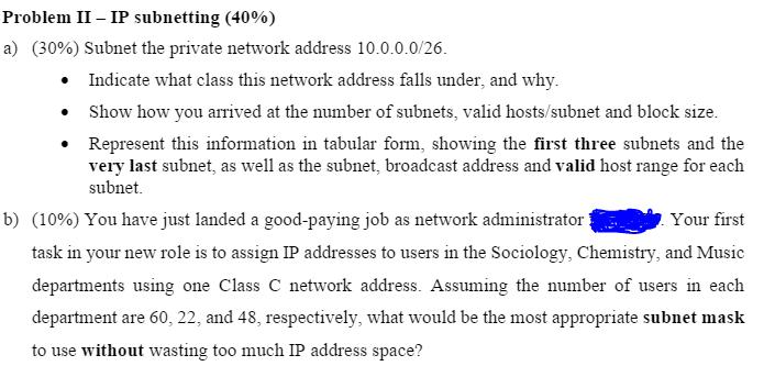 is 10.0.0.0 a valid ip address