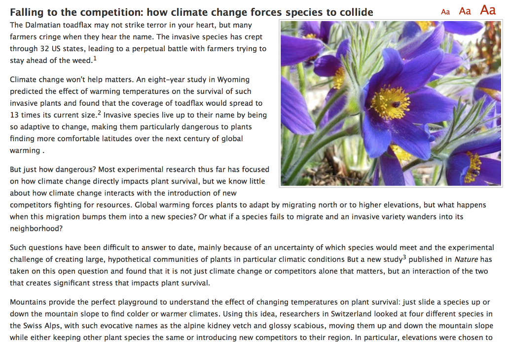 Solved: Aa Aa Aa Falling To The Competition: How Climate C