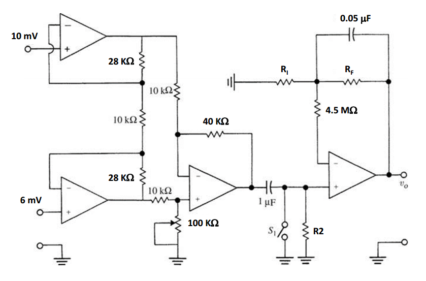 Groovy In The Ecg Preamplifier Circuit With A Cmrr Of 60 Chegg Com Wiring 101 Ivorowellnesstrialsorg