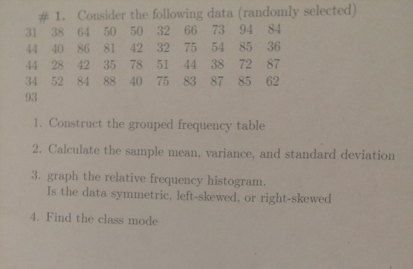 the following is the heart rate for 10 randomly selected patients on the unit find the mean variance For a sample of 70 randomly selected patients, the mean amount spent was $5550 and the standard deviation was $775 (a) find a 90% confidence interval for the mean amount spent by patients.
