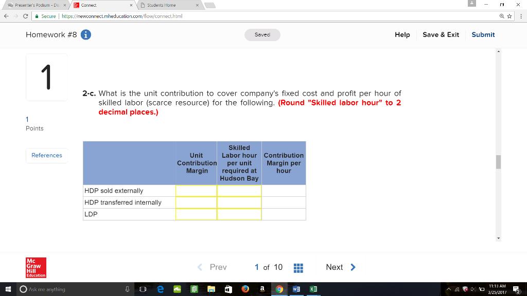 Solved: General Instrumentation Corporation Manufactures D