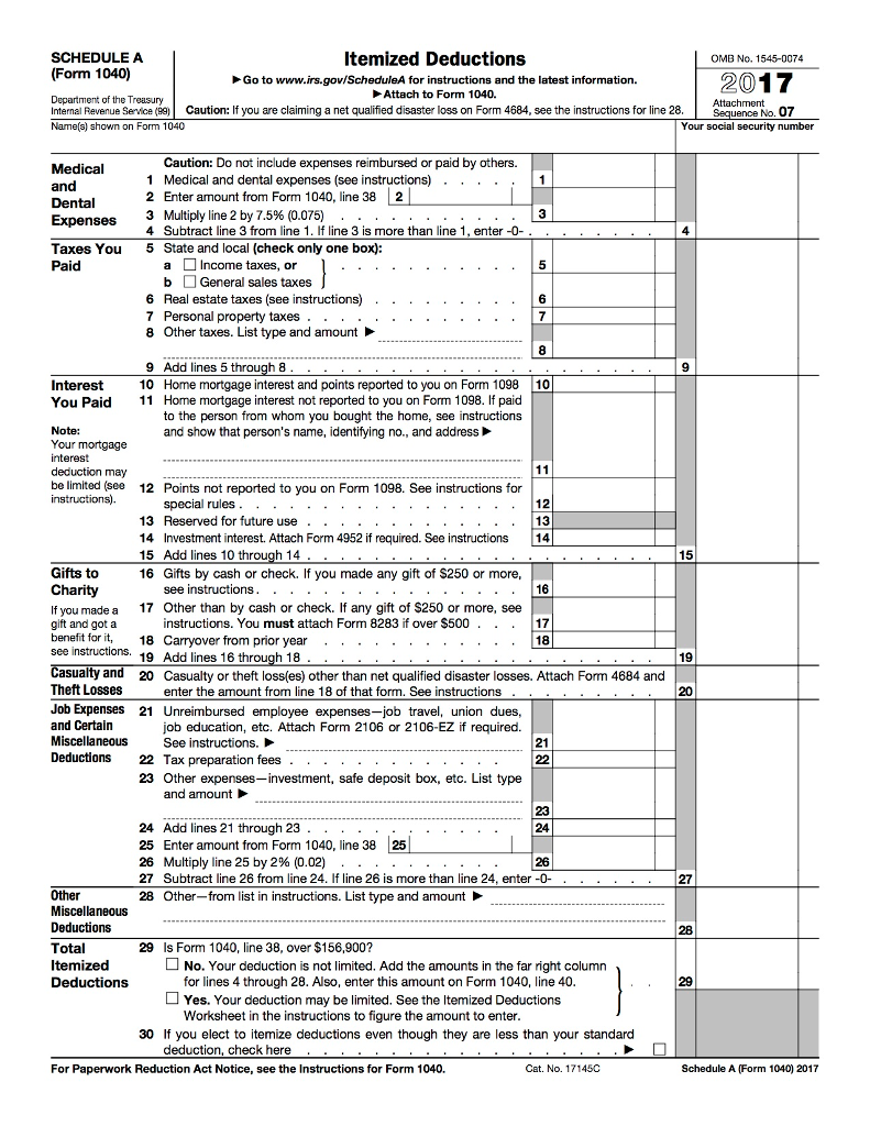 form 1040 instructions 2017  Tax Project Required: Use The Following Informatio ...