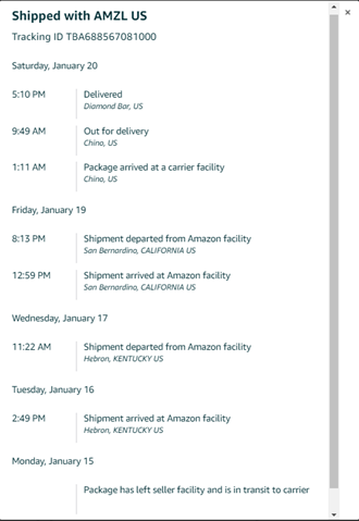 package tracking introduction modern shipping com chegg com