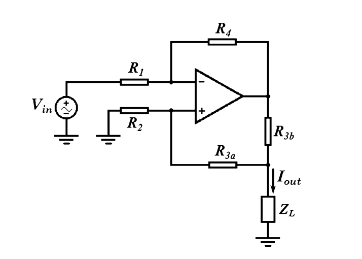 Solved: Howland Current Source Plz Help Me To Analysis Thi ...  Solved: Howland...