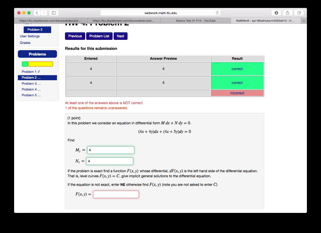 Solved: Webwork.math.ttu.edu Https://ttu.blackboard Static ...