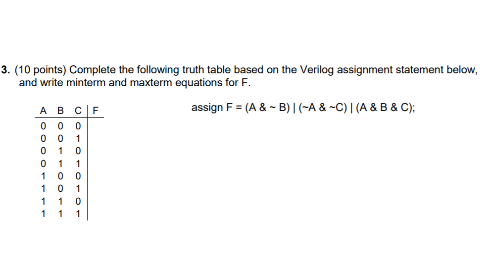 assign in verilog