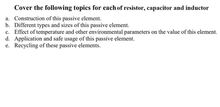 an experiment of the properties of the passive elements and the resonance An antenna coupling network is a passive network (generally a combination of inductive and capacitive circuit elements) used for impedance matching in between the antenna and the transmitter or receiver.