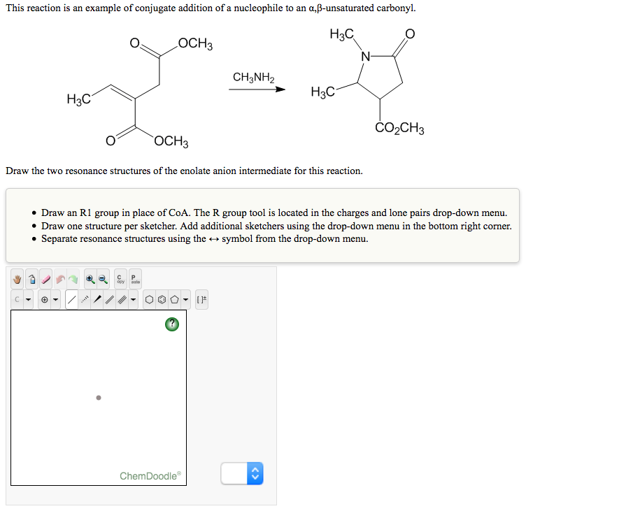 Solved This Reaction Is An Example Of Conjugate Addition