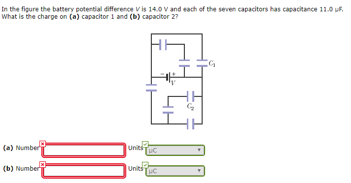 Solved: In The Figure The Battery Potential Difference Vis