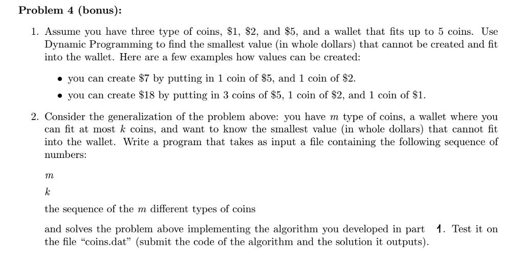 Solved Problem 4 Bonus 1 Assume You Have Three Type O