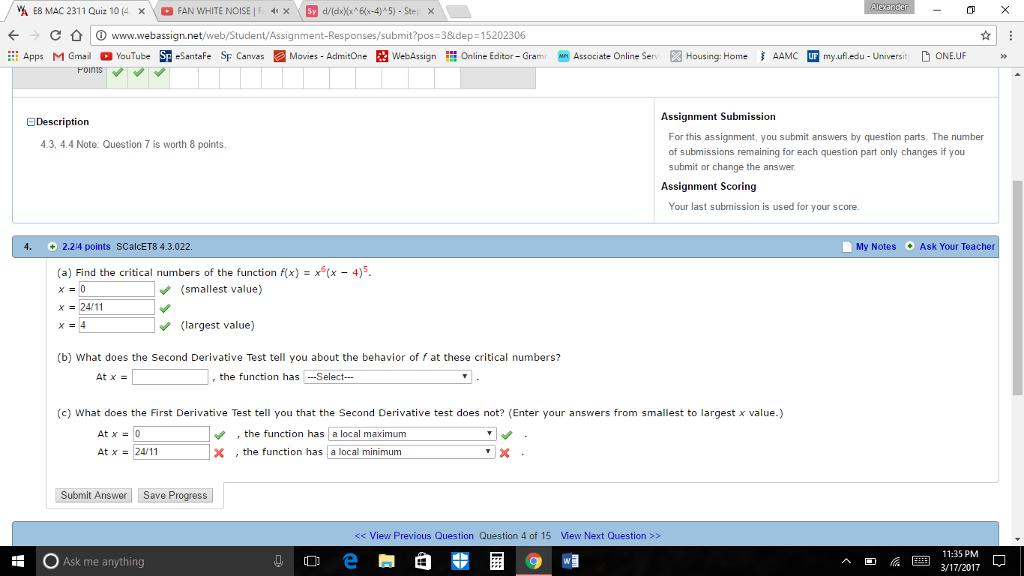 Solved: Aeronder VA E8 MAC 2311 Quiz: 10 FAN WHITE NOIS C
