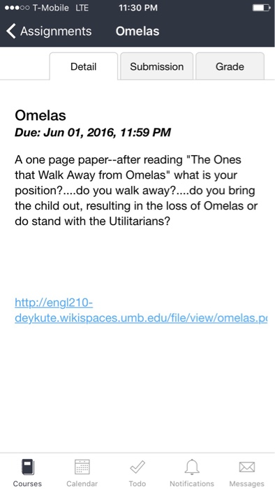 the ones who walk away from omelas pages