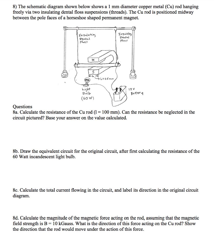 Solved 5 Many Commercially Available Permanent Magnets A The Terms Listed Below Label Incandescent Light Bulb Diagram See More Show Transcribed Image Text Are Sold With Plastic Coatings These Reduce Corrosion Of