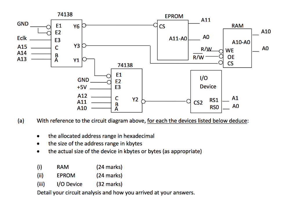 Solved  With Reference To The Circuit Diagram Above  For E