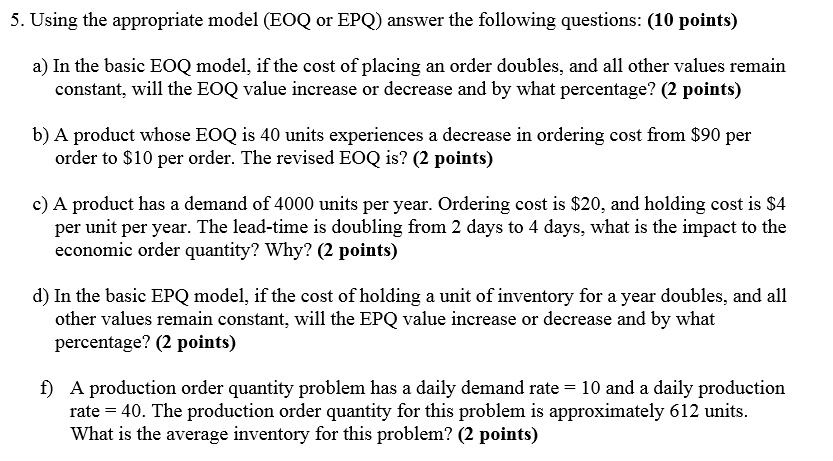 good epq questions