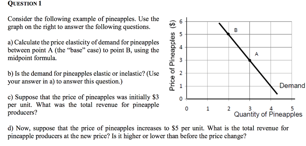 Solved Question 1 Consider The Following Example Of Pinea