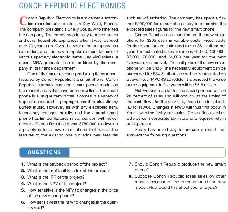 conch republic electronics part 2
