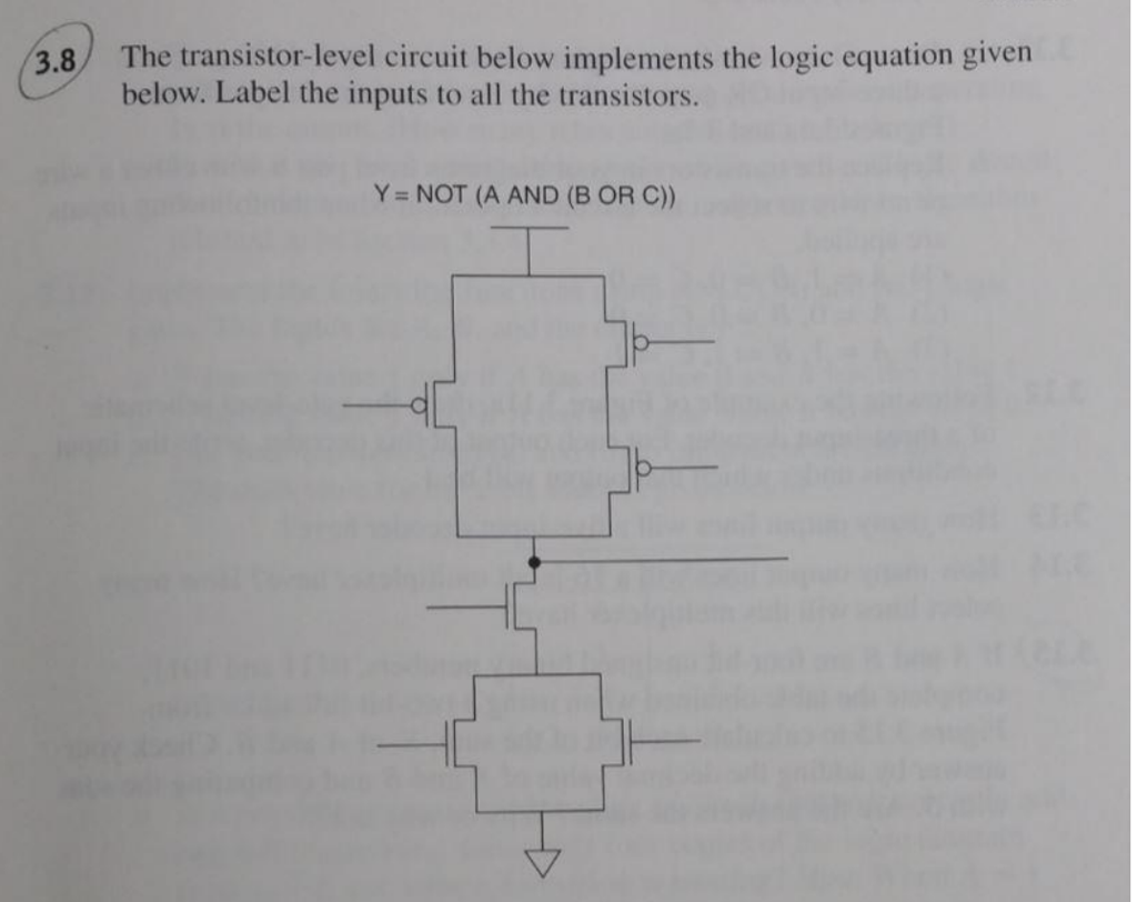 Solved 35 Complete A Truth Table For The Transistor Lev Design 2bit Full Adder Circuit To Display Numbe Cheggcom Question Level In Figure 334 Out Di