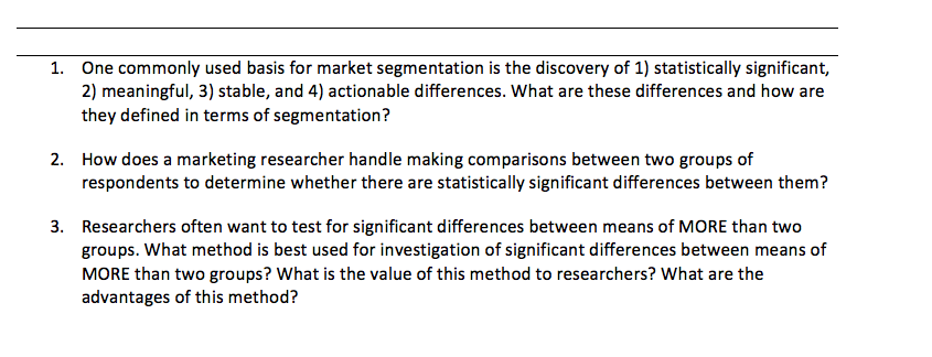 advantages of marketing segmentation