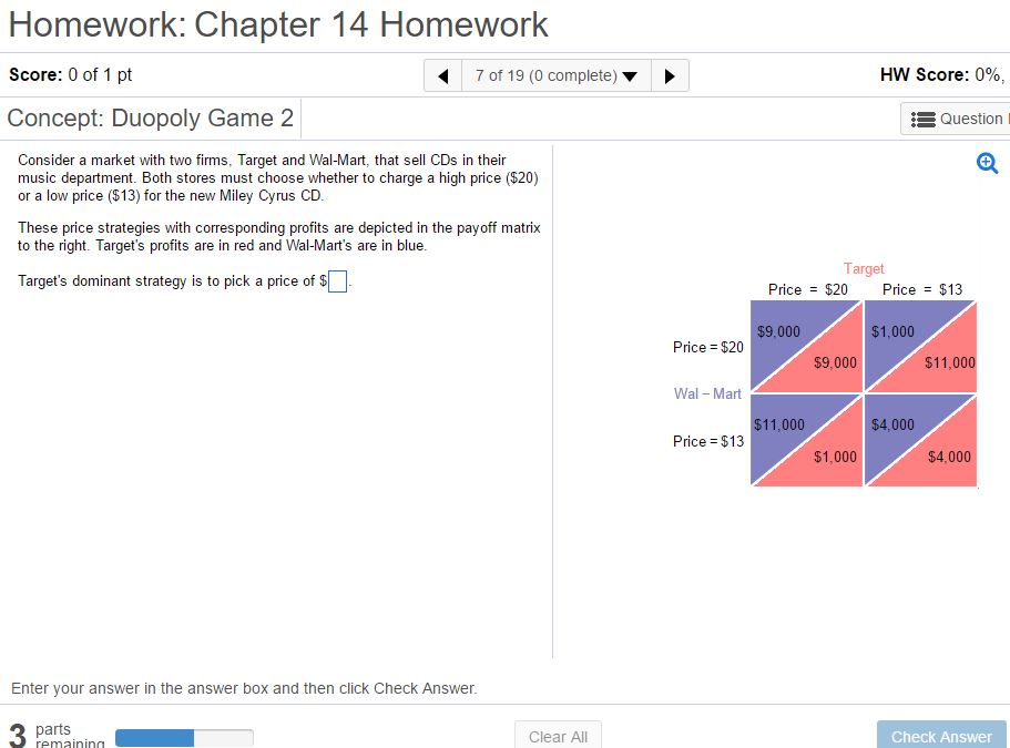 Economics archive june 24 2017 chegg homework chapter 14 homework score 0 of 1 pt concept duopoly game 2 fandeluxe Image collections