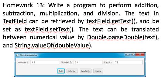Solved: Homework 13: Write A Program To Perform Addition