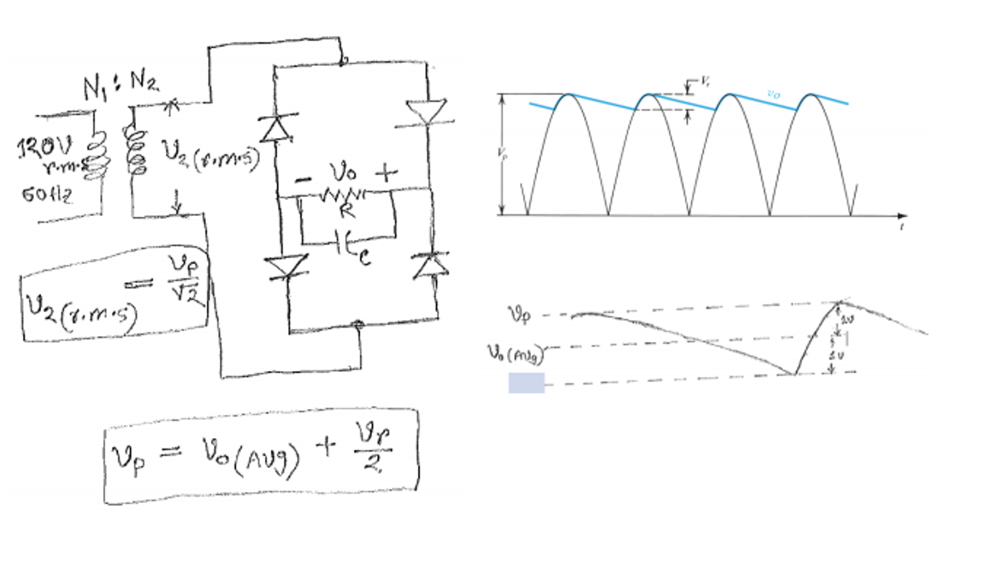 Solved A Full Wave Rectifier Circuit As Shown In The Foll See More Show Transcribed Image Text Following Figure Is Fed From Line Voltage Of 120 V Rms 60 Hz