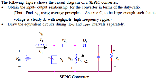 Solved  The Following Figure Shows The Circuit Diagram Of