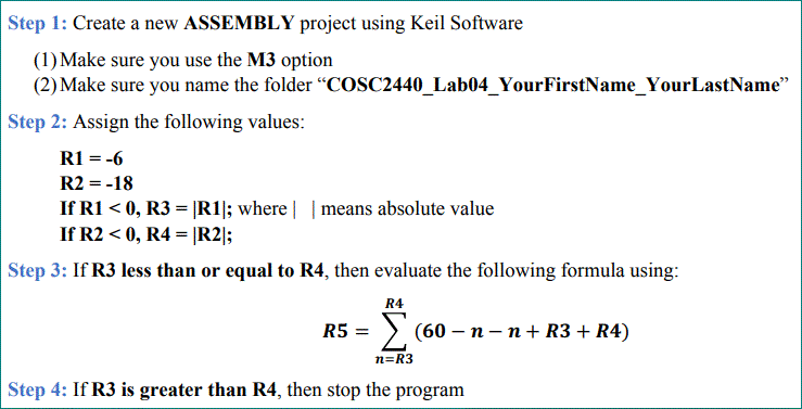 Assembly Language Please Use Loops In Answer Pleas Chegg
