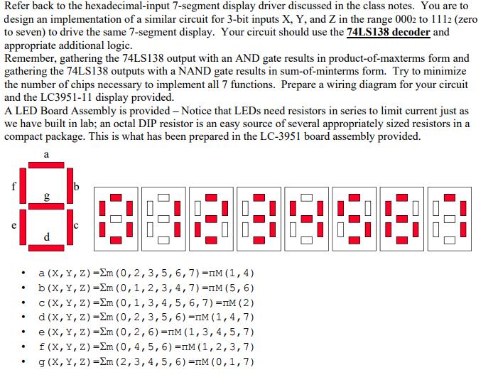 solved refer back to the hexadecimal input 7 segment disp. Black Bedroom Furniture Sets. Home Design Ideas