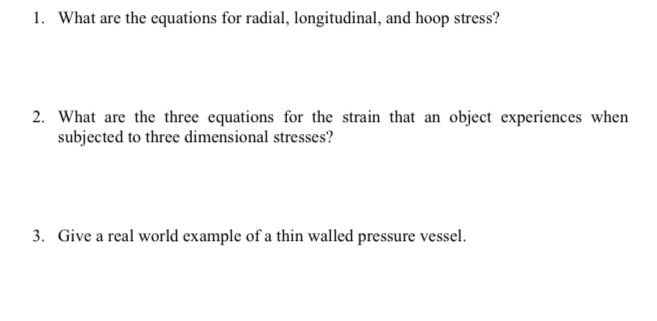 hoop stress example