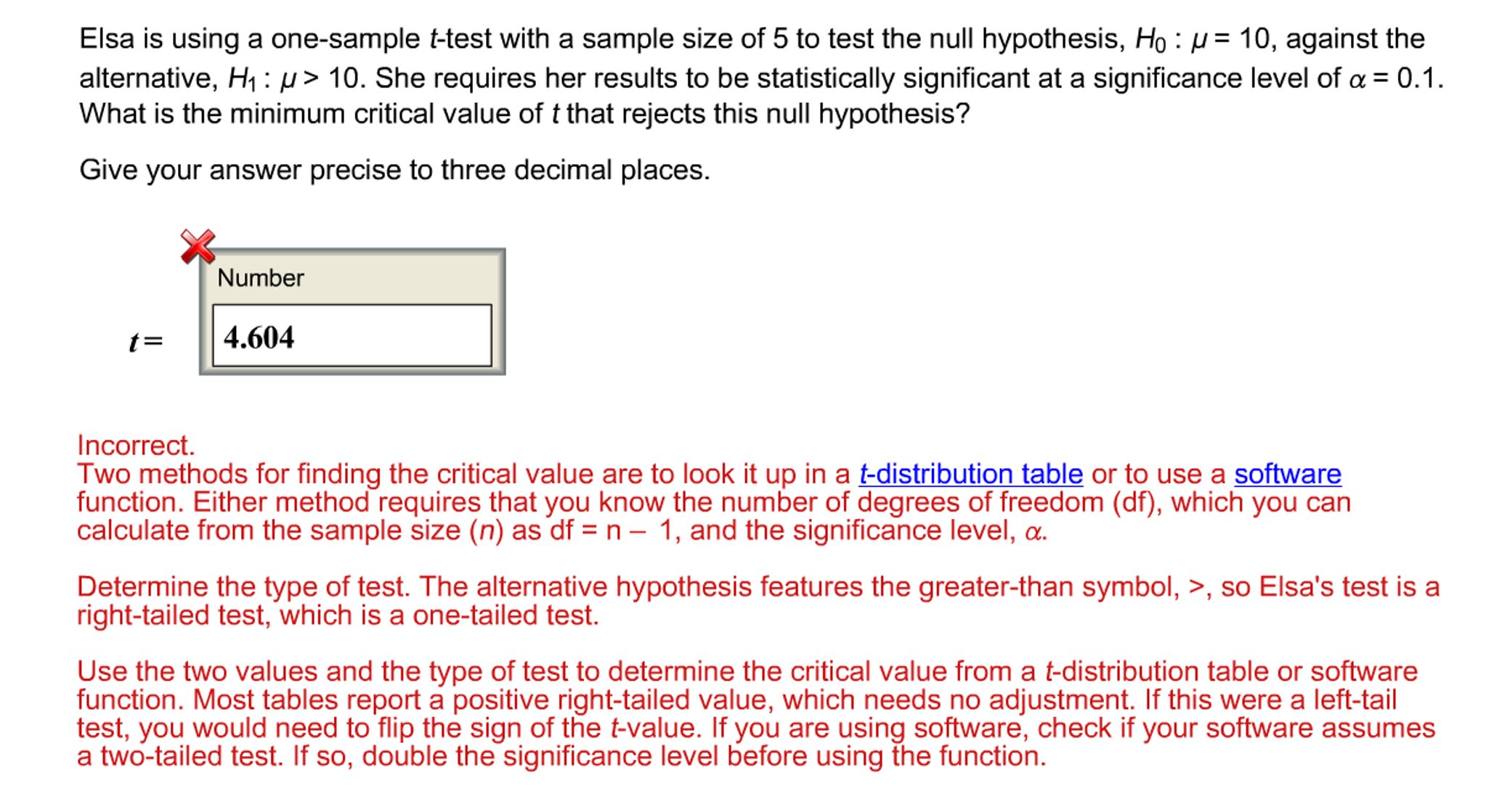 Solved Use A Ti 84 Software To Find The T Critical Value