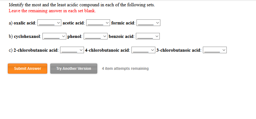 how to know if a compound is acidic
