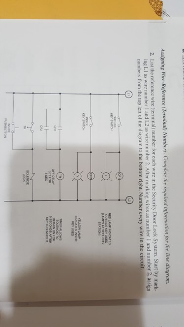Solved 5 12 choose correct diagram a b c or d of questio assigning wire reference terminal numbers complete the required information for the line asfbconference2016 Gallery