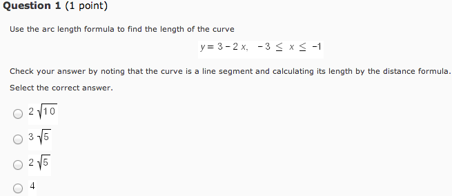 Solved: (1 point find the length of the curve for 1 t 3. L.