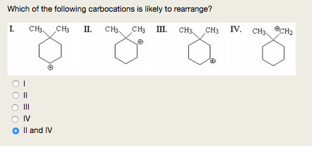 (Solved) - Show the rearranged carbocations that are