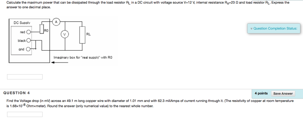 Solved: Calculate The Maximum Power That Can Be Dissipated ... on